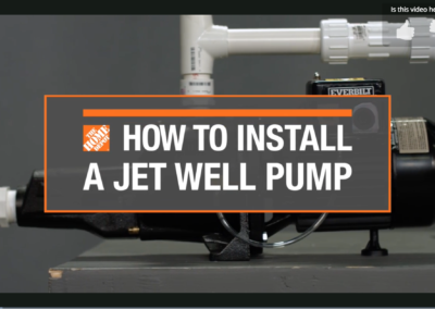 DIY Install Jet Well Pump video