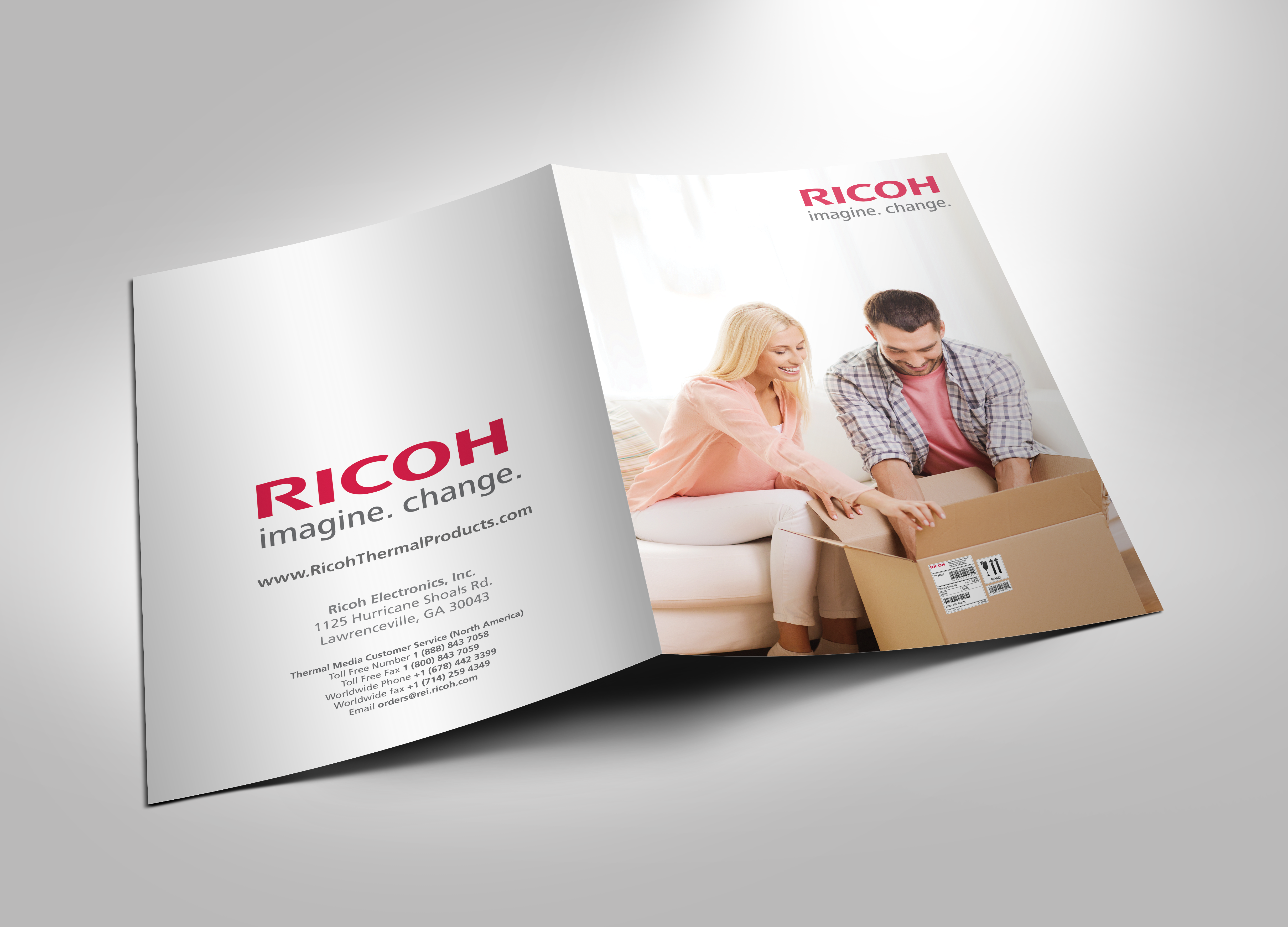 Ricoh Thermal Products Sales Folders